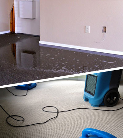 Carpet Flood Water Restoration